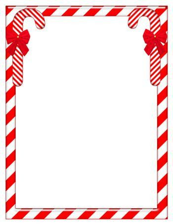 Christmas Theme Paper Template | Search Results | New Calendar ...