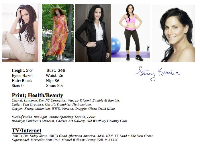 Stacy Kessler | MODELING GALLERY