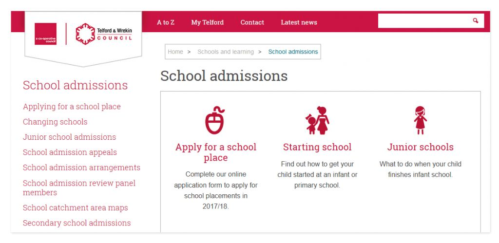 Admissions | Crudgington Primary School, Telford