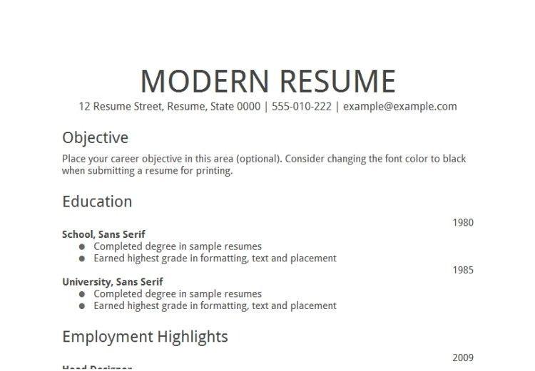 Sample Of Resume Objective [Template.billybullock.us ]