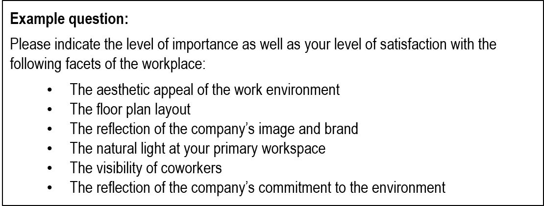 Three employee surveys to improve your workplace redesign