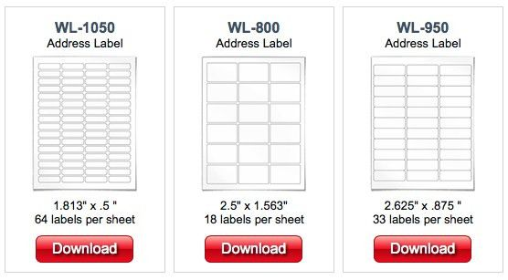 Worldlabel.com releases free Pages for Mac label templates