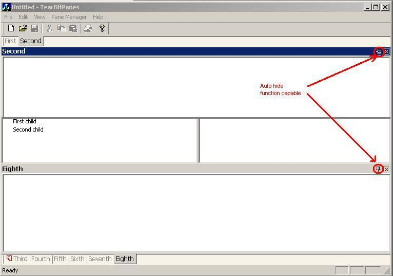 Visual Studio.NET-Style Tear Off Panes - Part III