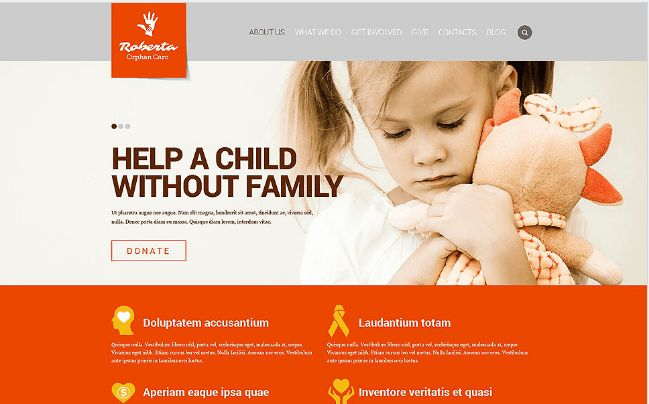 30+ Best Charity Html Templates 2016
