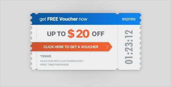 13+ Ticket Voucher Templates – Free Sample, Example Format ...