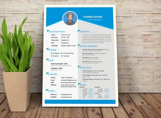 100 Best Free Business Cards, Resume Templates and More of 2014 ...