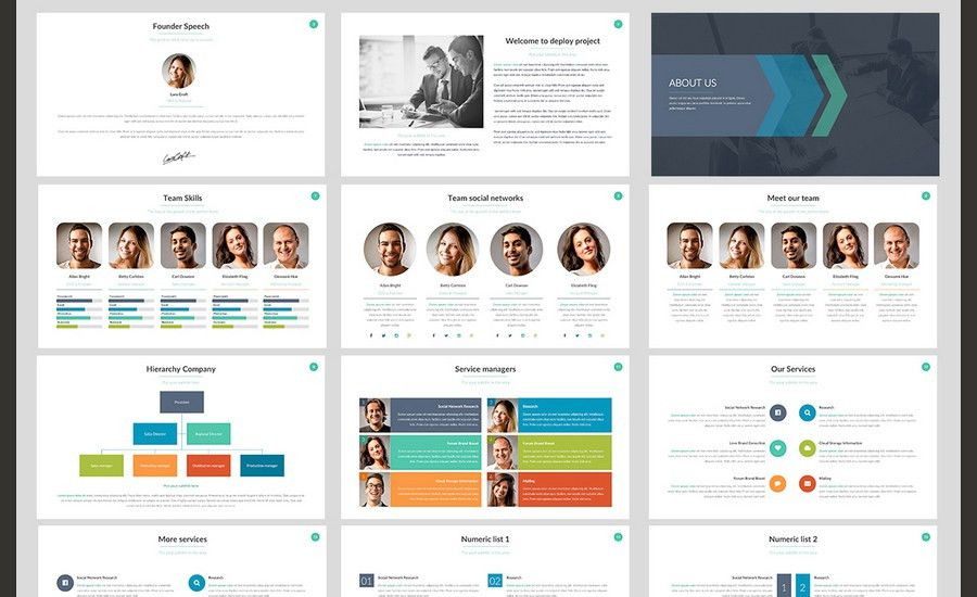 design template in presentation design template in powerpoint ...