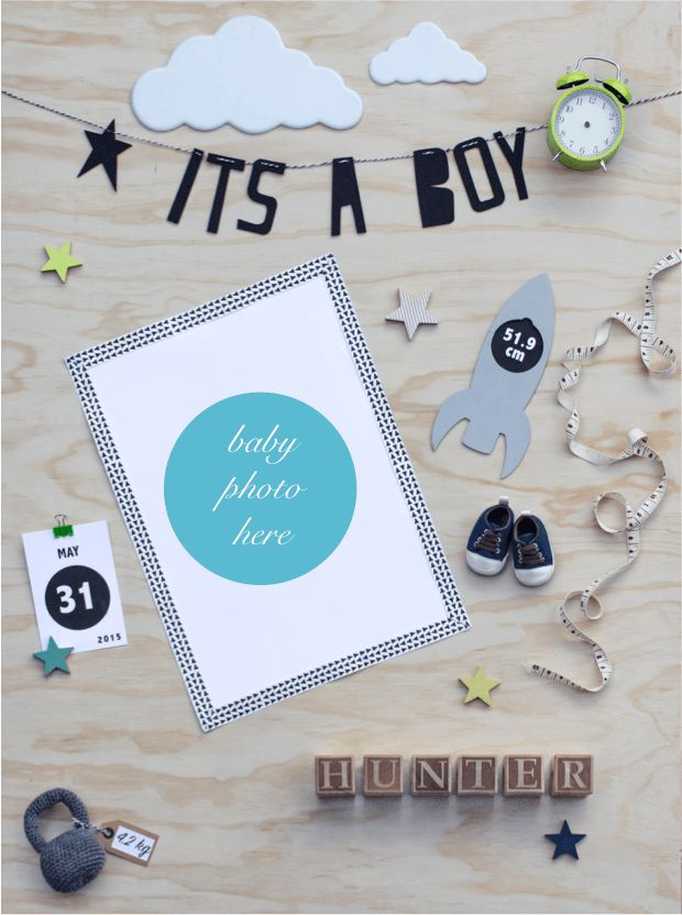 Stylist Erin Michael creates birth announcement app - The ...