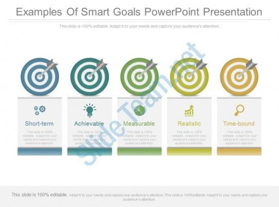 Examples Of Smart Goals Powerpoint Presentation   PowerPoint ...