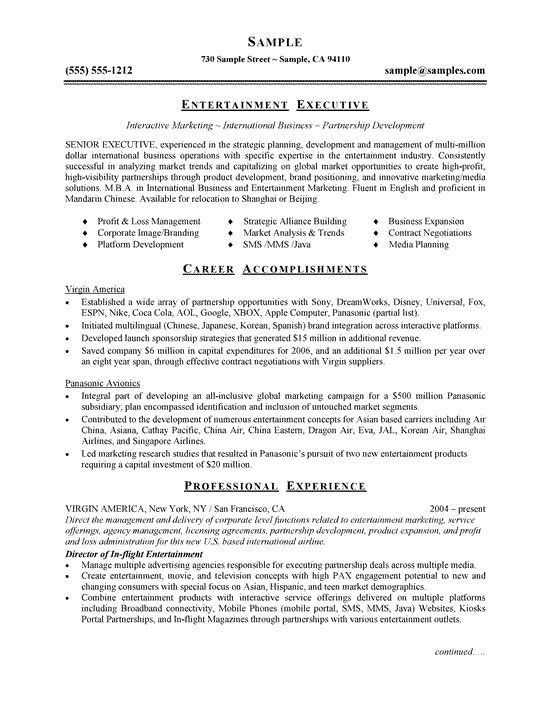 21 best CV images on Pinterest | Resume tips, Executive resume and ...