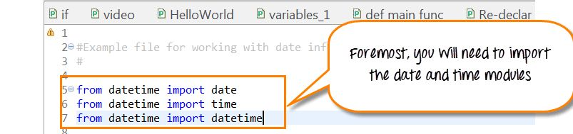 Date & Time Tutorial: Timedelta, Datetime, & Strftime