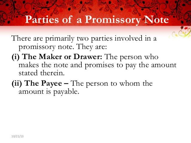 Promissory Note. Download Blank Promissory Note Template | Pdf ...