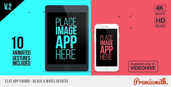 VIDEOHIVE FLAT APP PROMO - FREE AFTER EFFECTS TEMPLATES - Free ...