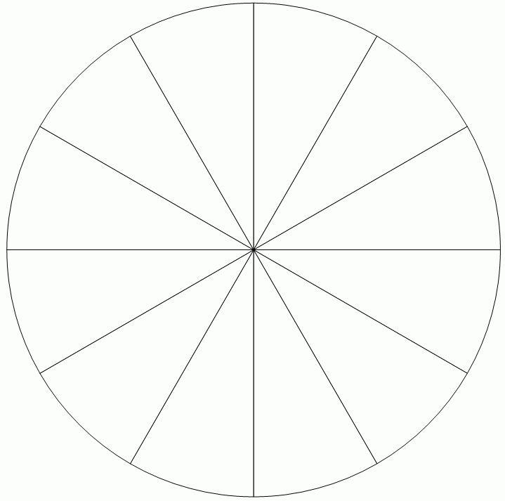 DIY Pie Chart Templates for Teachers | Student Handouts ... Pie ...