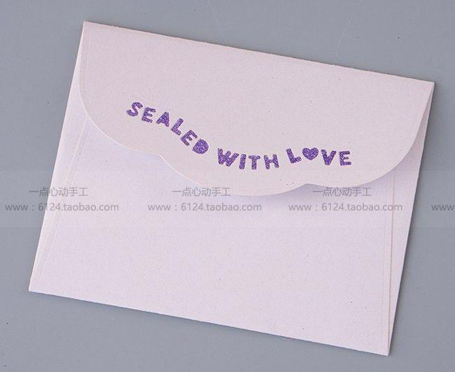 3D Pattern Envelope Die Cutting DIY Pressed Paper Exquisite ...