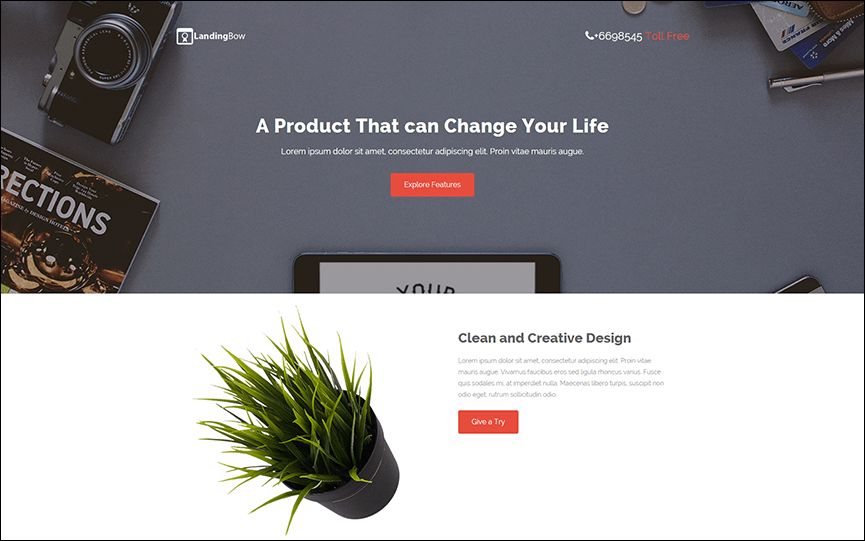 Dynamic Landing Page Templates - Creative Template | Creative Template