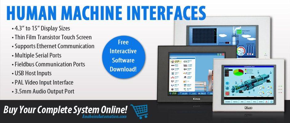 HMI | Human Machine Interfaces