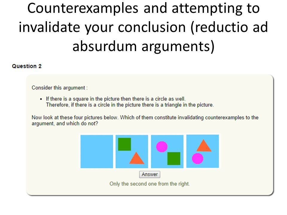 Continuing types of arguments and evaluating arguments - ppt video ...
