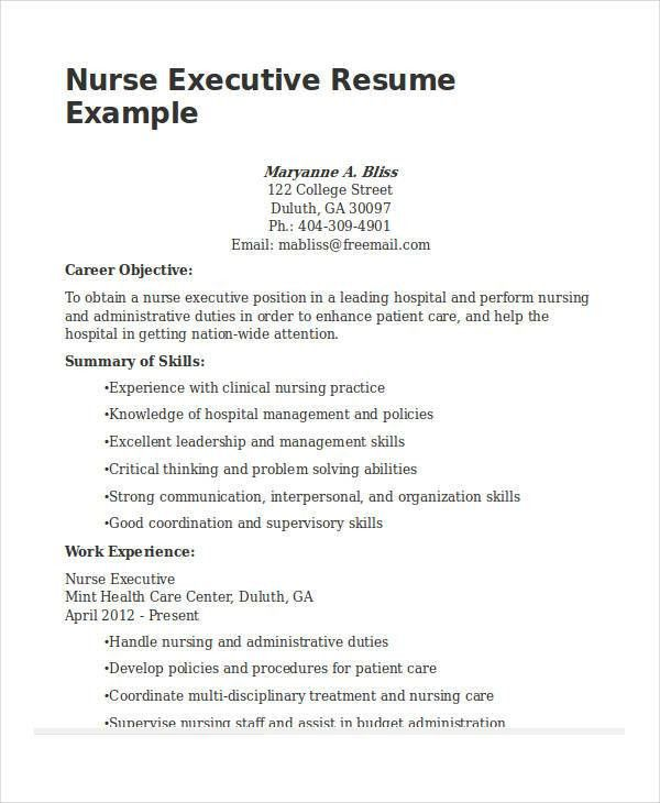 Executive Resume Example. Telecom Executive Telecom Executive ...