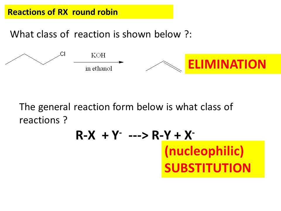 VIDEO EXAMPLE OF SUBSTITUTION The hydrolysis of t-butyl halides ...