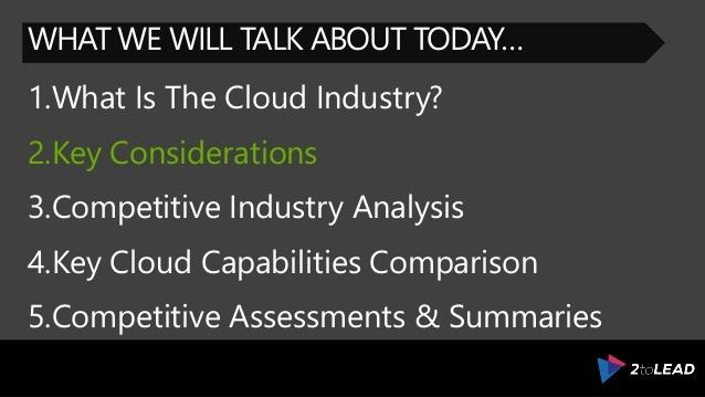 Microsoft Azure and the Competitive Public Cloud Industry: What You N…