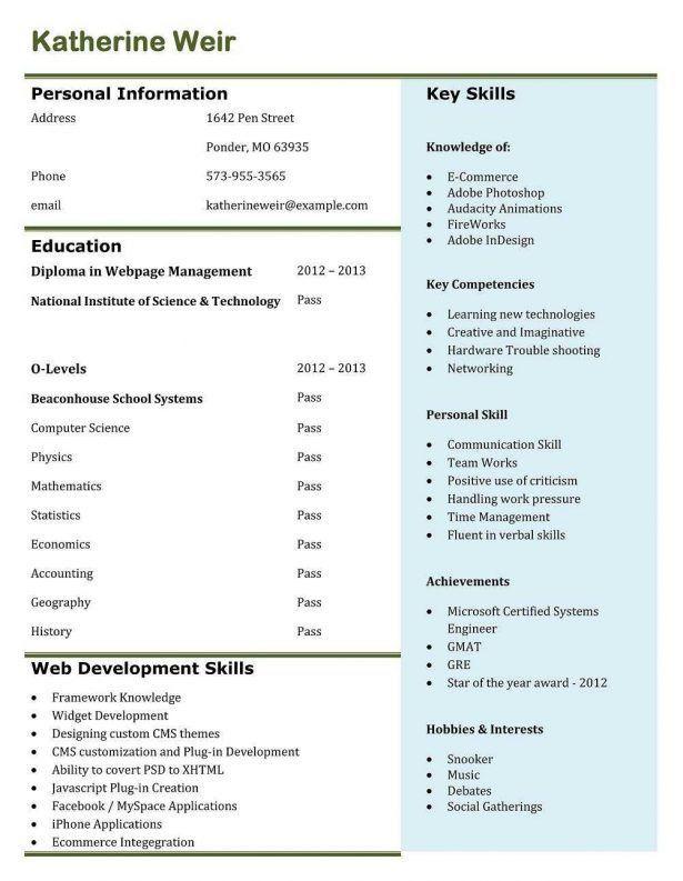 Resume : Image Change Background Create My Cv For Me Build App ...