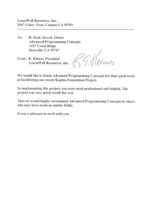 Letter Of Recommendation For High School Student Job - Compudocs.us