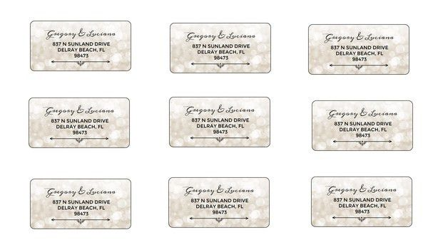 8+ Wedding Water Bottle Label Templates - Free Printable PSD, Word ...
