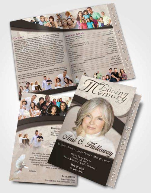 Funeral Program Templates | Printable Funeral Programs
