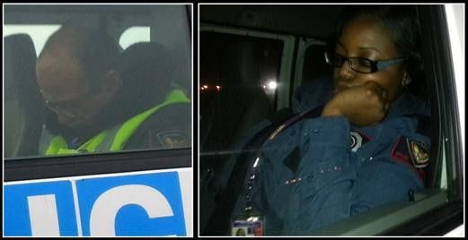 Security Guards Caught Sleeping on The Job While on Duty | Unions ...