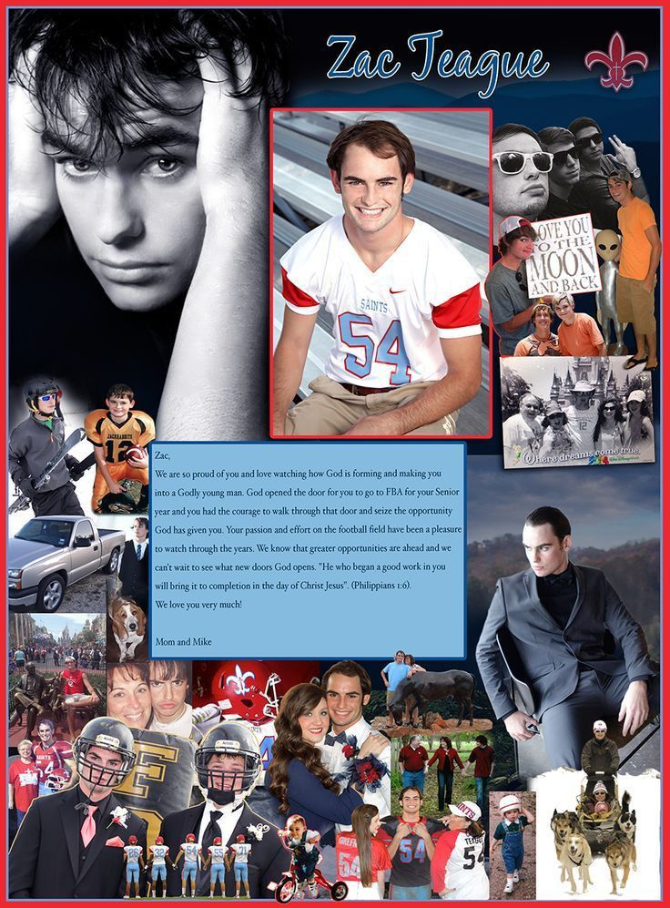 18 best High School Senior Yearbook Pages images on Pinterest ...