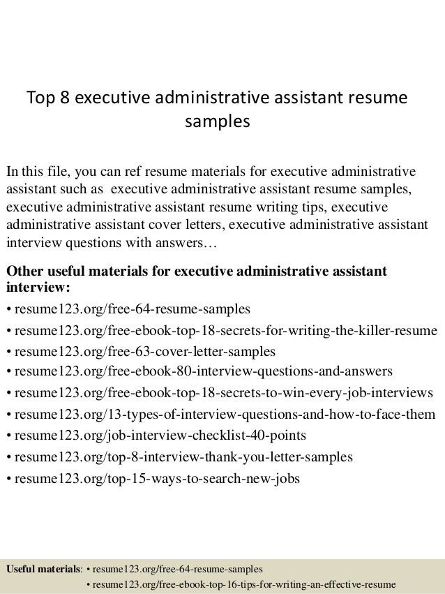 top-8-executive-administrative-assistant-resume-samples -1-638.jpg?cb=1429945286