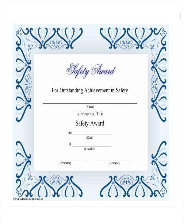 samples of certificates