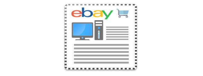 Free eBay Auction Listing Template Tools | Sellercore