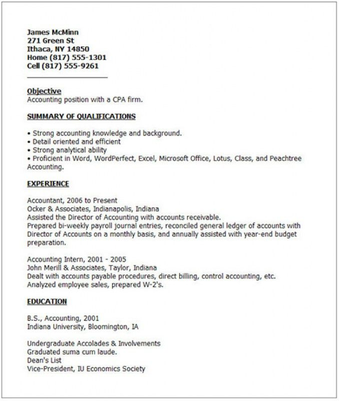 current resume samples resume format 2016 12 free to download