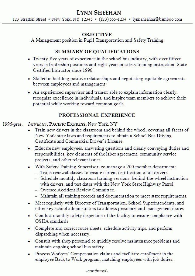 logistic supervisor jobs resume cv cover letter