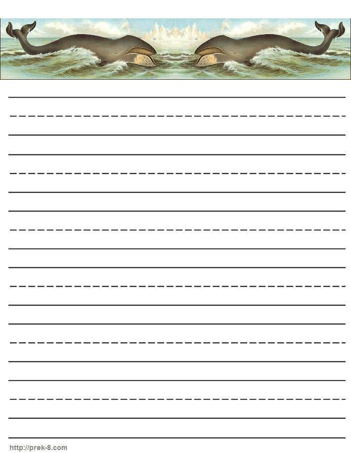 Writing paper, stationery, free printable kids letterhead