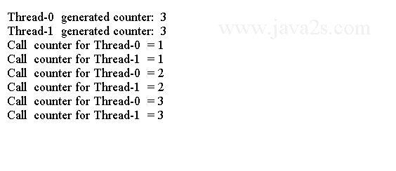 Java Thread Tutorial - Java Thread-Local Variables