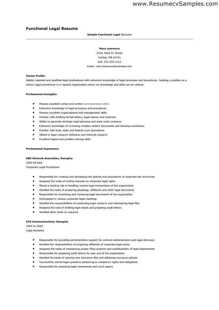 Skills And Abilities Resume Examples | berathen.Com