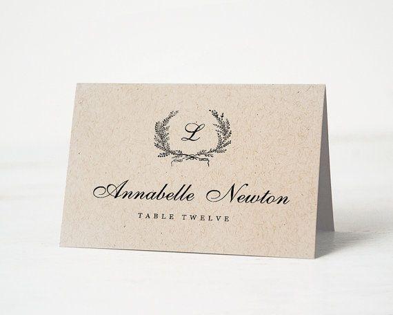 wedding place cards templates - thebridgesummit.co