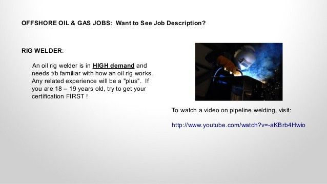 Entry Level Oil Rig Jobs for You: Easy Entry?