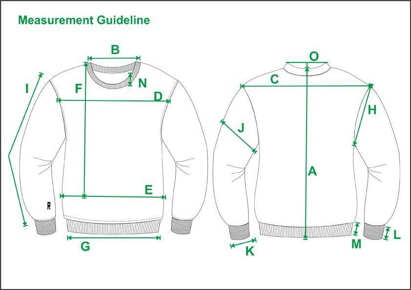 Tech Pack Template Mens Sweatshirt Tech Pack Template Standard USA ...