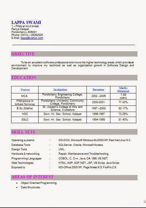 how to make an attractive resume Download Free Excellent CV ...