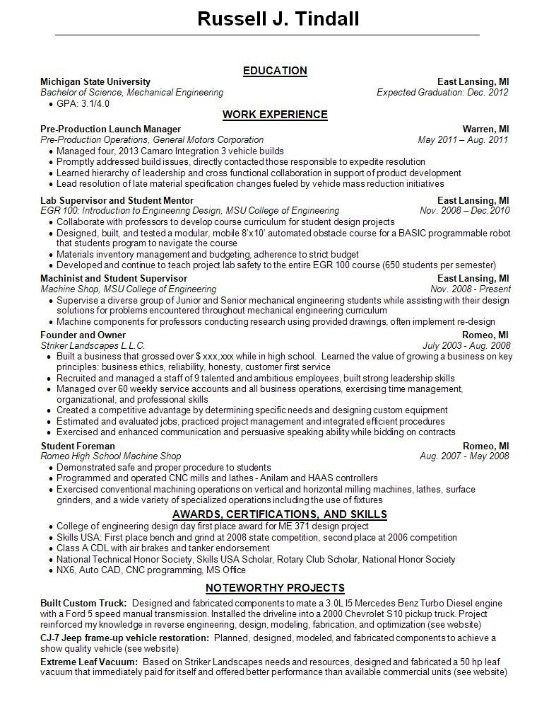 how to complete resumes