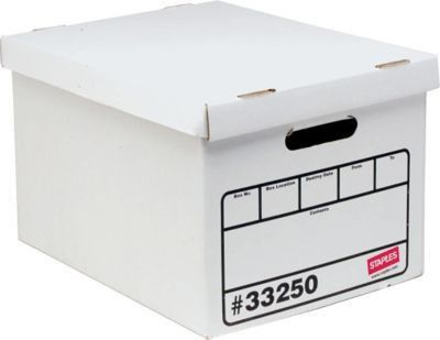 Staples Basic Duty Storage Boxes, Letter/Legal Size, 10 Pack ...
