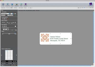 How to Format a Template in Avery DesignPro for Mac