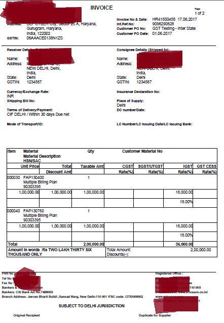 GST Invoice Rules, Invoicing Under GST, Download GST Invoice ...