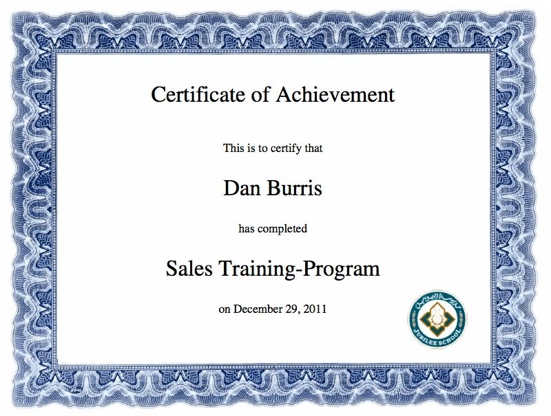 Award Blank Certificates | Certificate Templates
