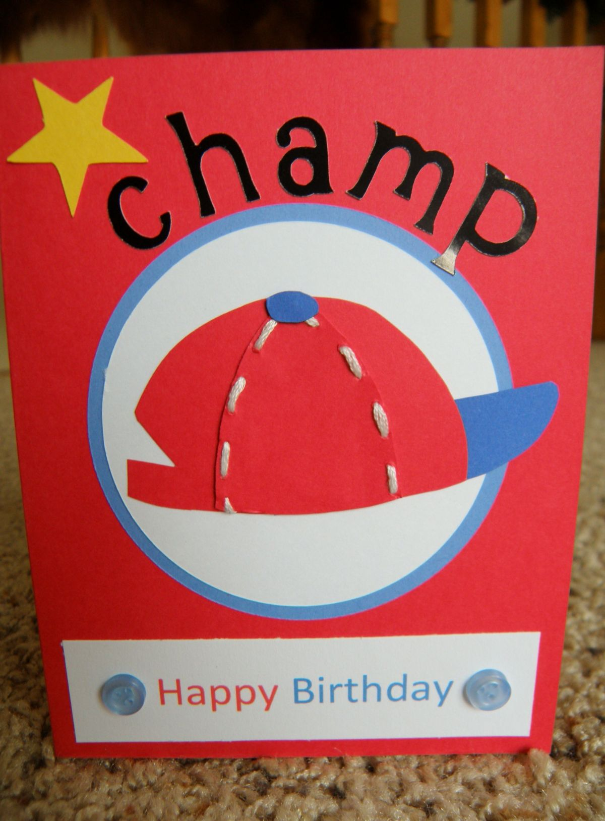 1000+ images about baseball themed birthday card on ...