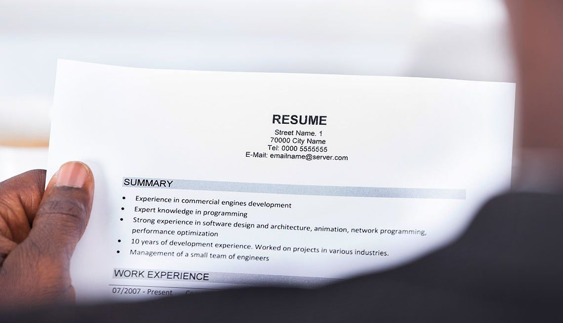 Help Your Résumé Stand Out in Job Search
